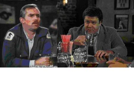 Cliff & Norm at Cheers
