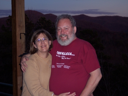 Lu & Jim in NOrth Carolina