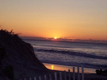 Sunrise at Ocean City, New Jersey
