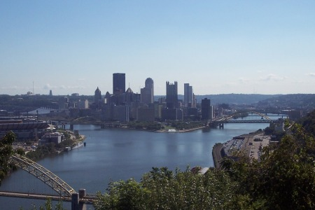 Pittsburgh from the 'Bluff'