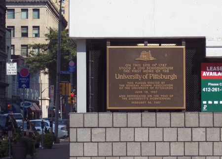 Original site of Pitt