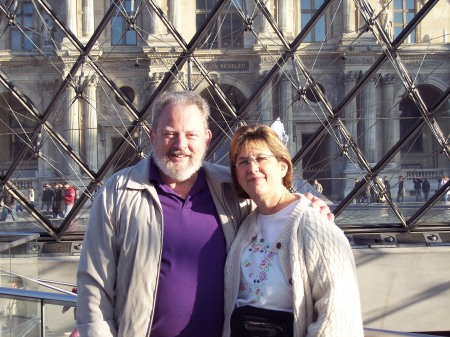 Lu and Jim at the Louvre