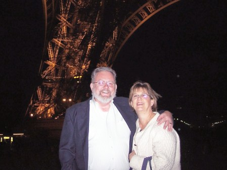 At the Eiffel Tower
