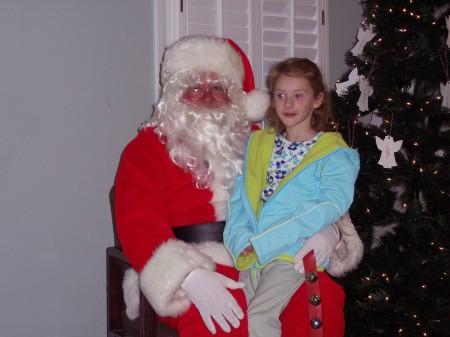 Santa listens