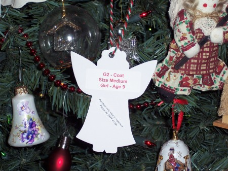 An Angel on the Angel Tree