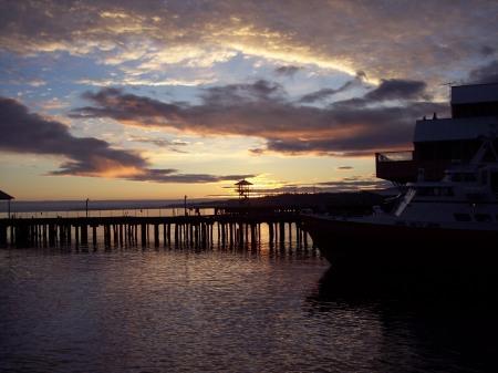 Sunrise at Port Angeles