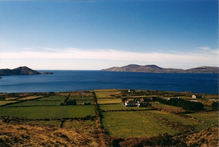 Seacoast on the Ring of Kerry