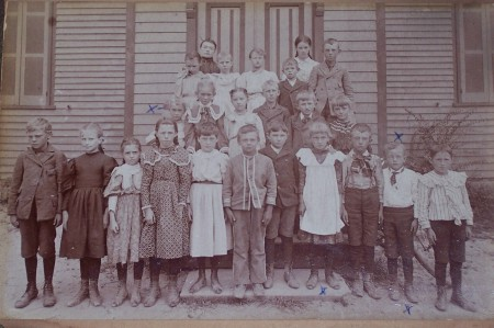 Classmates in early 1900's