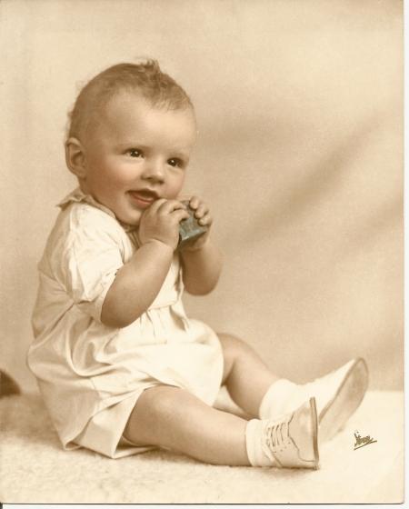 Wasn't I cute!