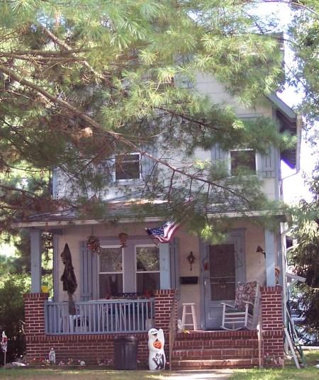 Uncle Lewis' home in Linwood