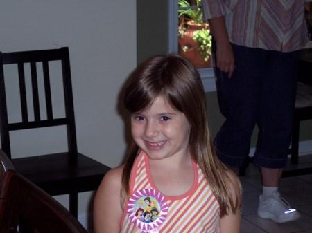 Emma - the birthday girl