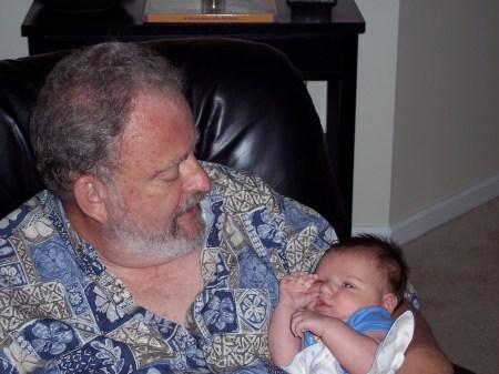 Zack with Grandpa