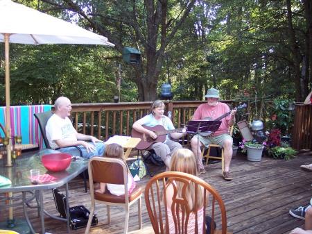 A trio of instrumentalists
