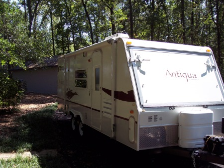 Our new travel trailer.