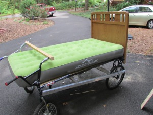 My entry in the Bed Race